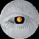 Янтарная монета