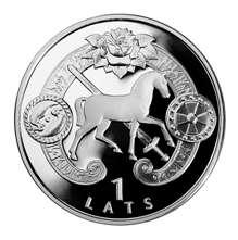 """Монета """"Сигулда"""""""