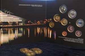 Latvijas eiro monētu suvenīrkomplekts 2015 (BU)