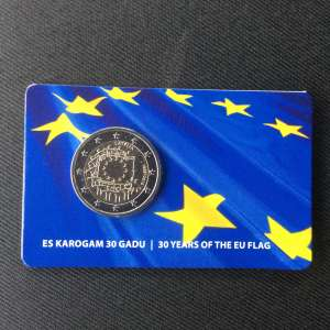 30 years of the European Union flag (BU)