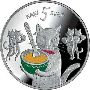 Fairy Tale Coin I. Five Cats
