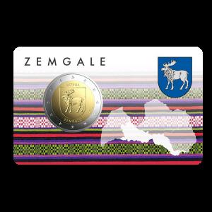 2 EURO / Zemgale / BU