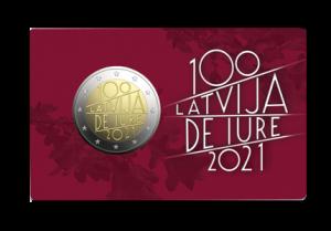 2 EIRO / Latvija de iure 100 / BU
